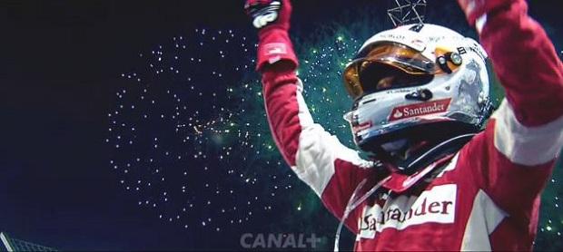 Sebastian Vettel Canal+