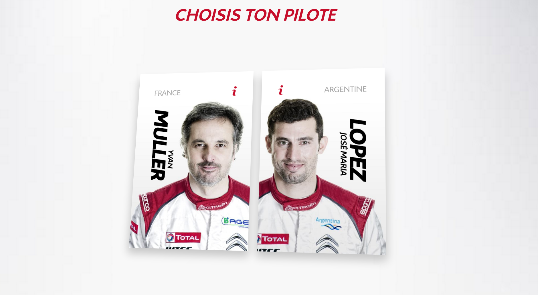 Citroen Game of Scroll Pilotes