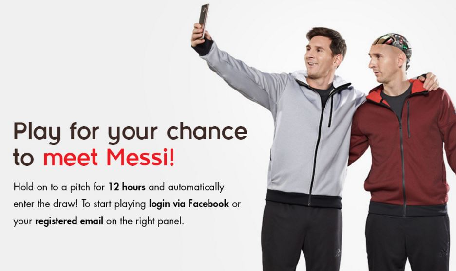 Lionel Messi pour Ooredoo et la campagne Stand for Good 2