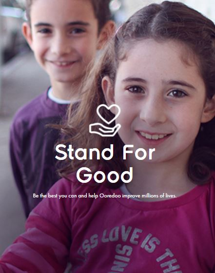 Lionel Messi pour Ooredoo et la campagne Stand for Good 3