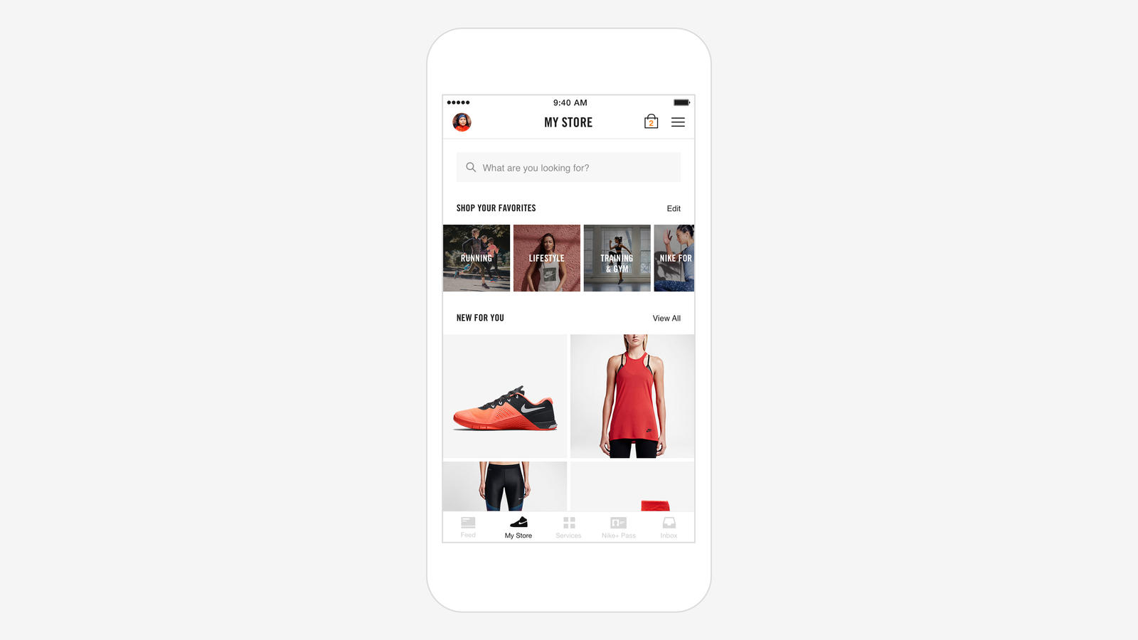 Nike+ Application