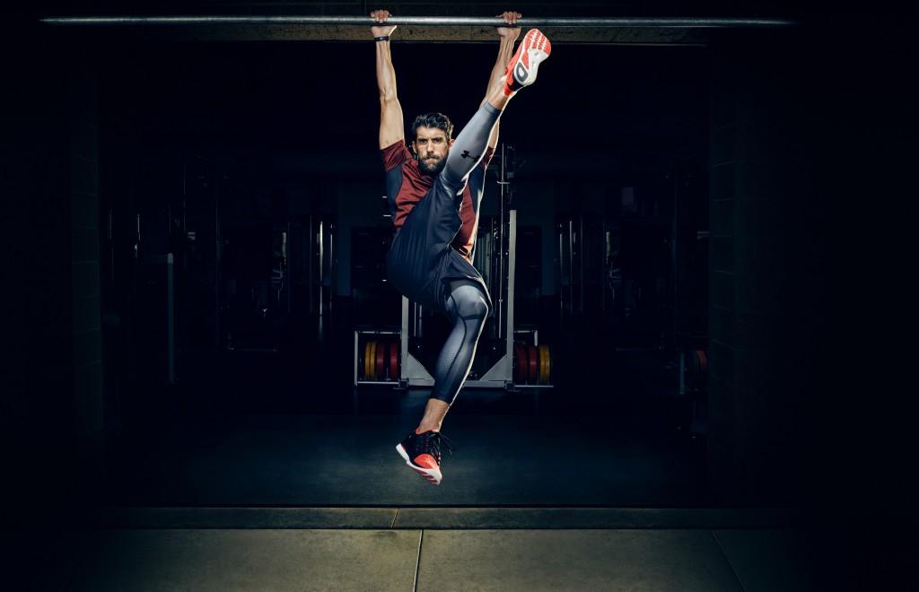 Phelps entrainement pour Under Armour