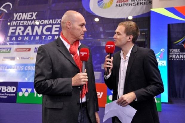 L'Equipe 21 a déjà diffusé du badminton, avec les Yonex Internationaux de France