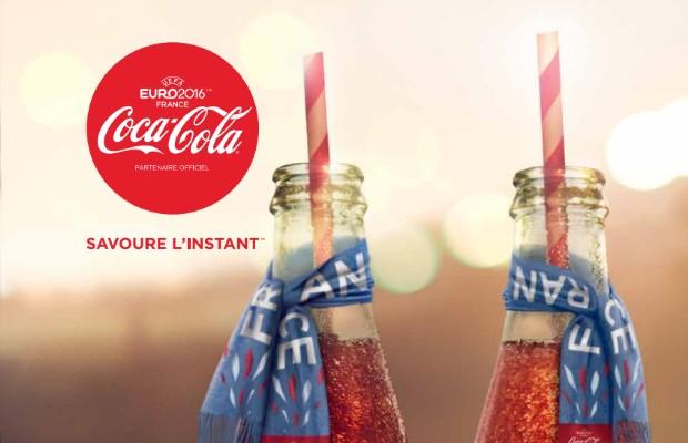 coca cola dispositif euro 2016 savoure l'instant