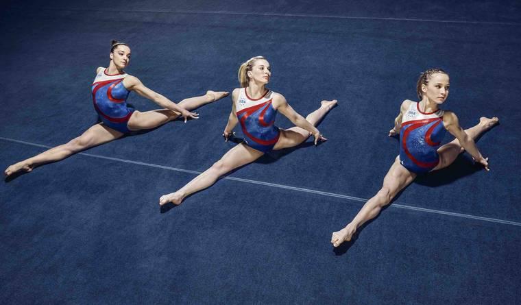 uniformes officiels des équipes de gymnastique des USA par Under Armour 2