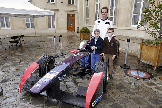 during the Public presentation e-Prix Paris Mairie de Paris April 13 2016 - Photo Francois Flamand / DPPI