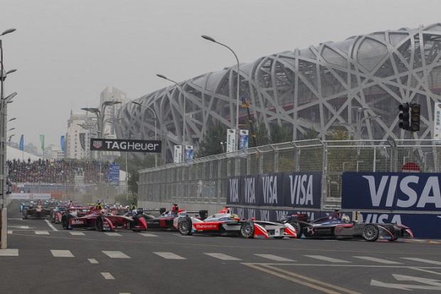 La Formule E à Pekin, course 1 de la saison 2, octobre 2015