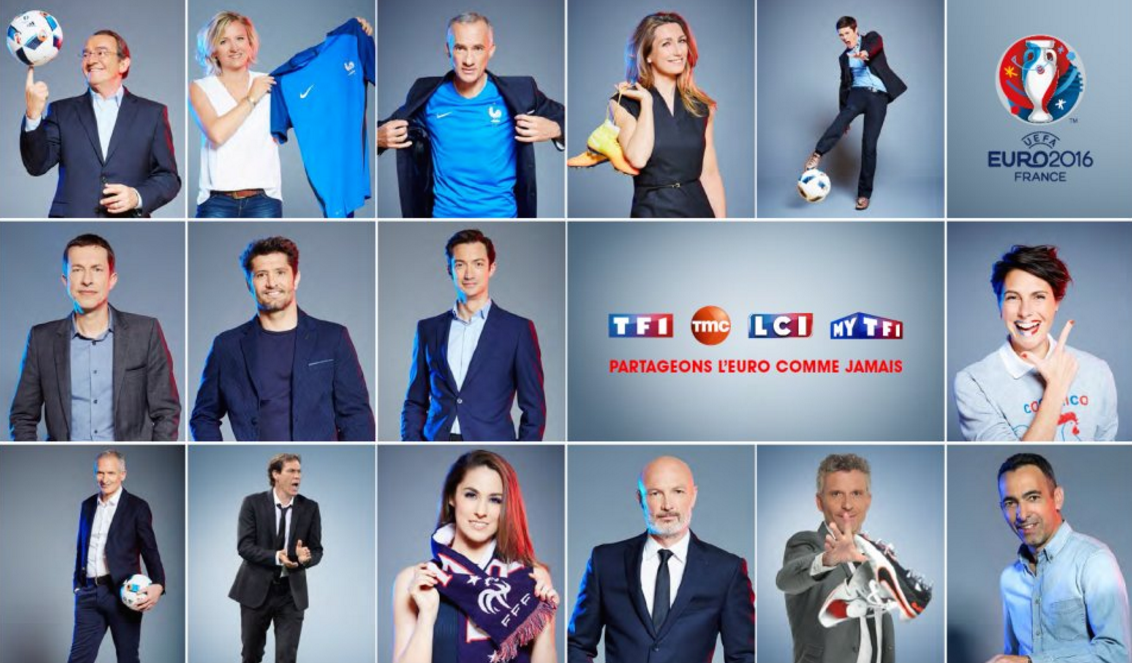 Dispositif TF1 Euro 2016