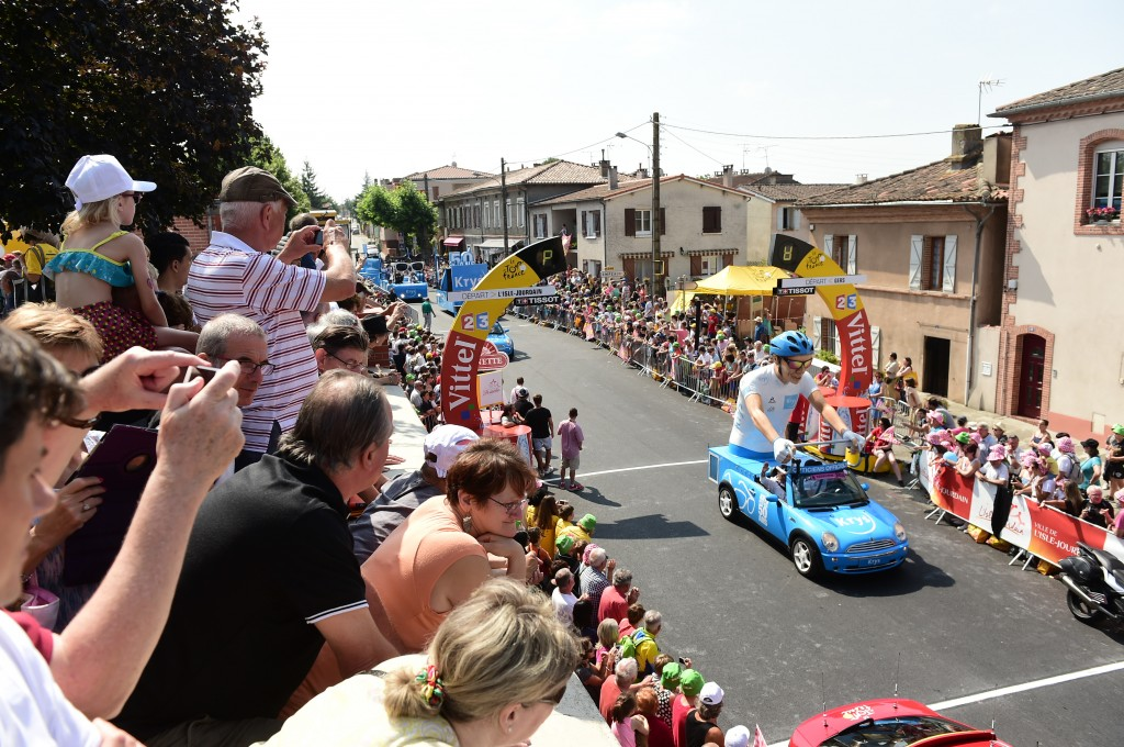 Tour de France 2016 - 08/07/2016 - Etape 7 - L'Isle-Jourdain/ Lac de Payolle (162;5 km)