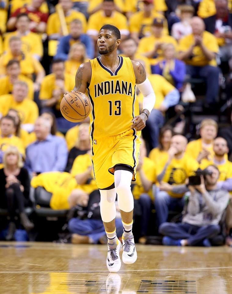 Paul George, ailier des Indiana Pacers (2)