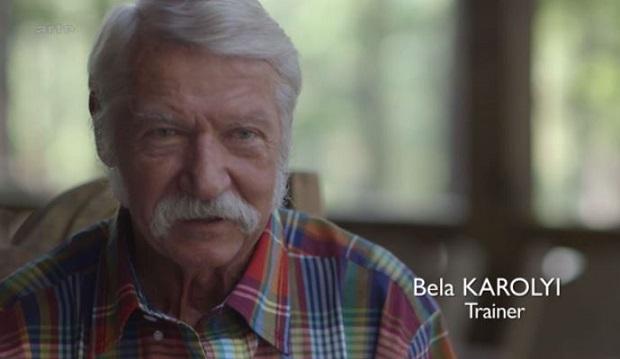 Béla Károlyi, ancien entraîneur de Nadia Comaneci