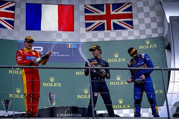 Pierre Gasly vainqueur de la course 1 à Spa