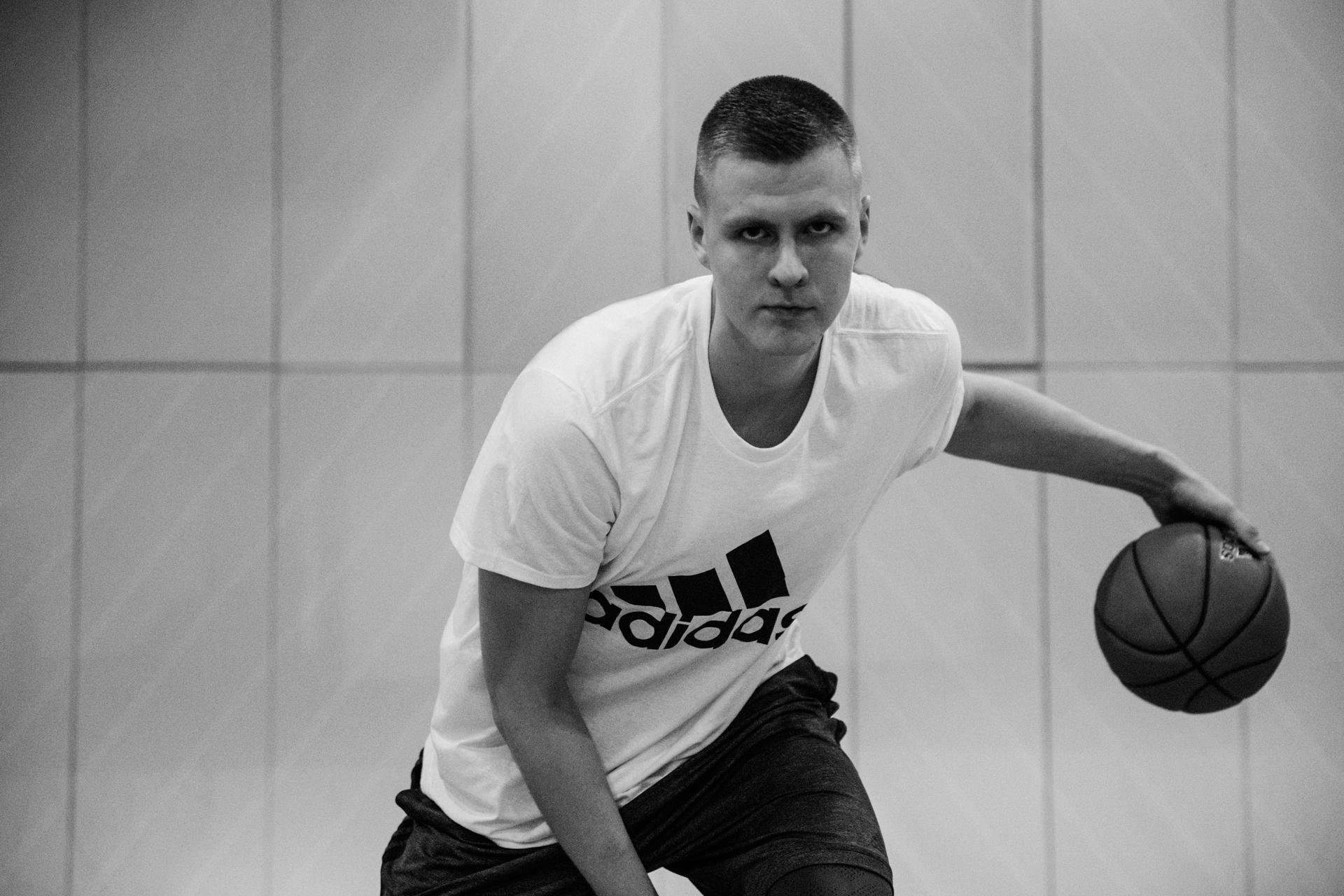 Kristaps Porzingins adidas basketball