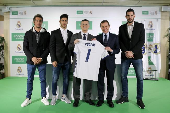 Codere Apuestas sponsor Real Madrid