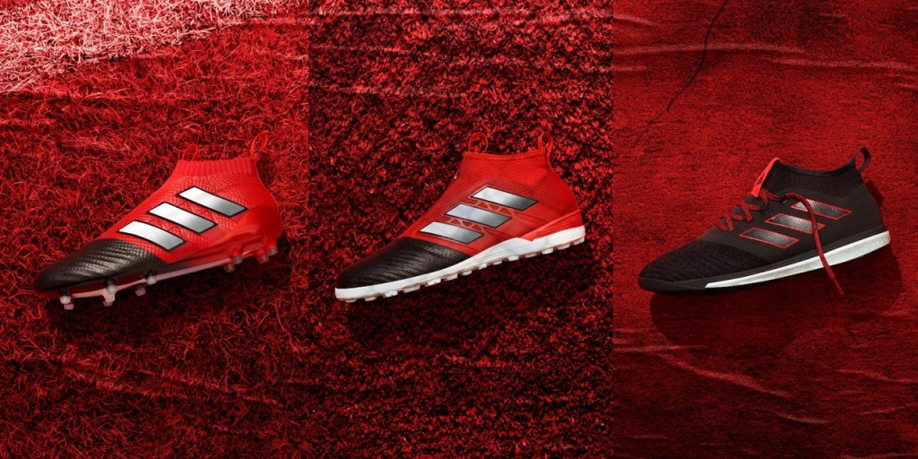 chaussures adidas football ACE Red Limit Collection