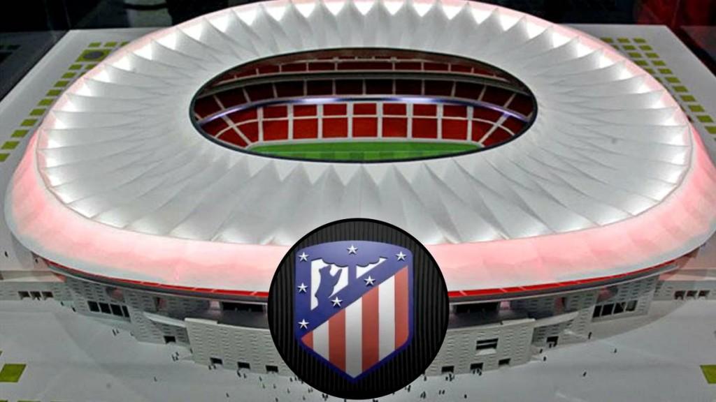 Atletico Madrid nouveau stade 3D