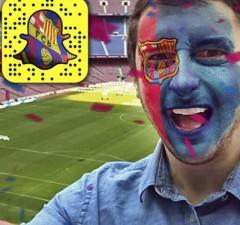 Snapchat filtre club football