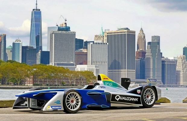 Le Formula E show car