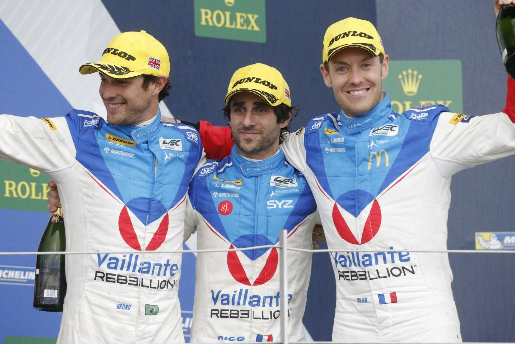 Bruno Senna, Nicolas Prost et Julien Canal
