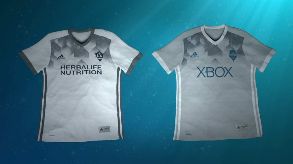 adidas maillots MLS Parley For The Oceans - La Galaxy vs Seattle Sounders