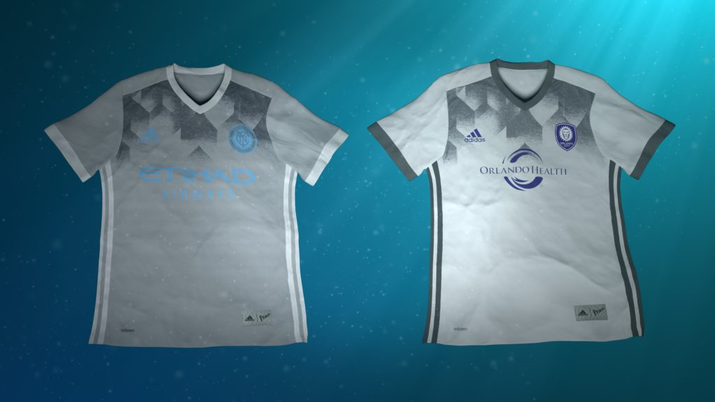 adidas maillots MLS Parley For The Oceans - New York City FC vs Orlando City