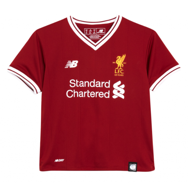 LIVERPOOL MAILLOT 2017/18 NEW BALANCE FOOTBALL