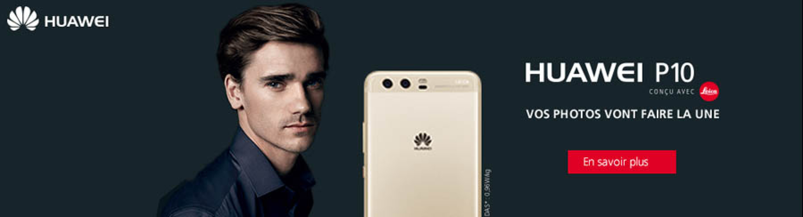 antoine griezmann dans une histoire floue avec huawei. Black Bedroom Furniture Sets. Home Design Ideas