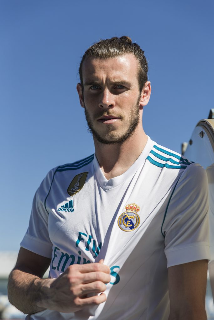 Maillot domicile 2017-18 Real Madrid - Gareth Bale