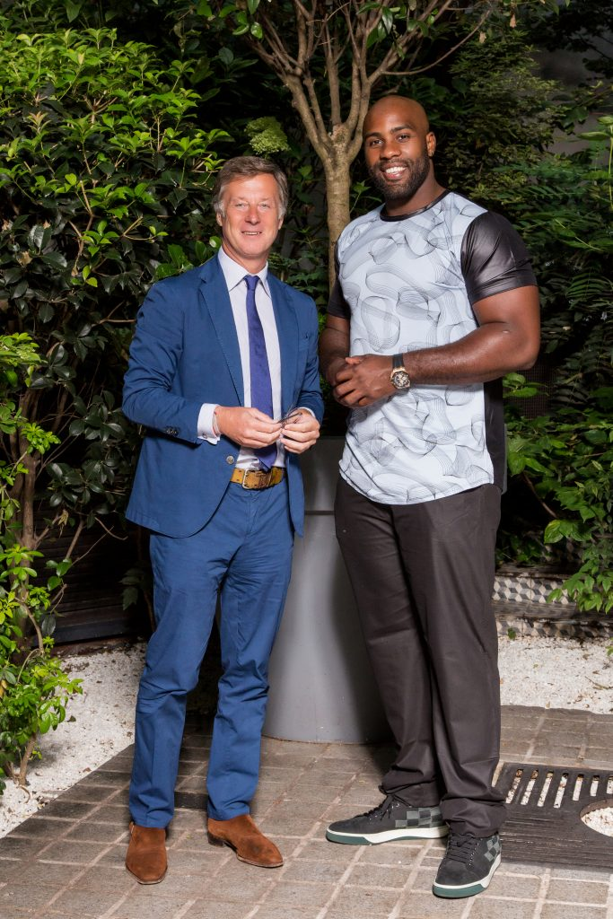 Sébastien Bazin Teddy Riner Accor hotels