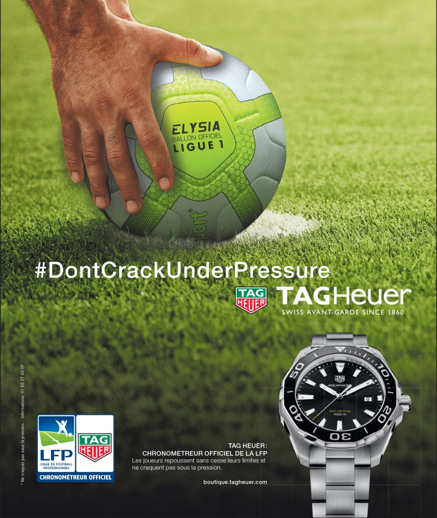 Print Tag Heuer Dont Crack Under Pressure L'Equipe