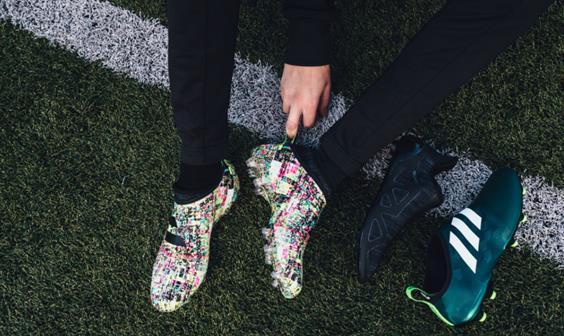 adidas football lance sa dernière innovation : GLITCH, la chaussure