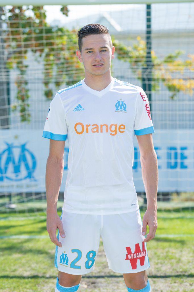 Florian Thauvin - ailier gauche et international français de l'Olympique de Marseille