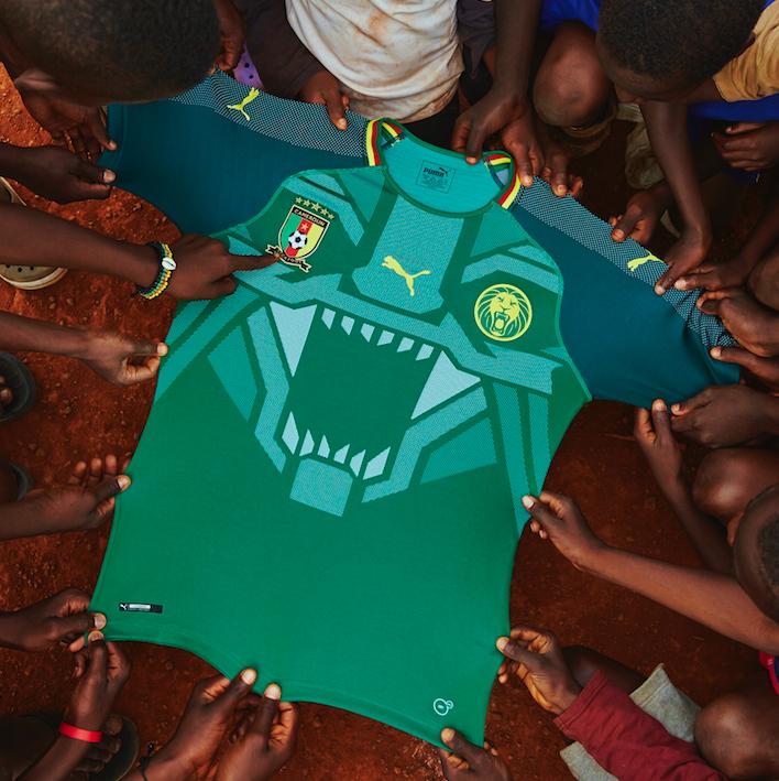 Maillot Cameroun 2017 - PUMA Football