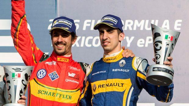 Di Grassi & Buemi, les deux rivaux de la Formule E