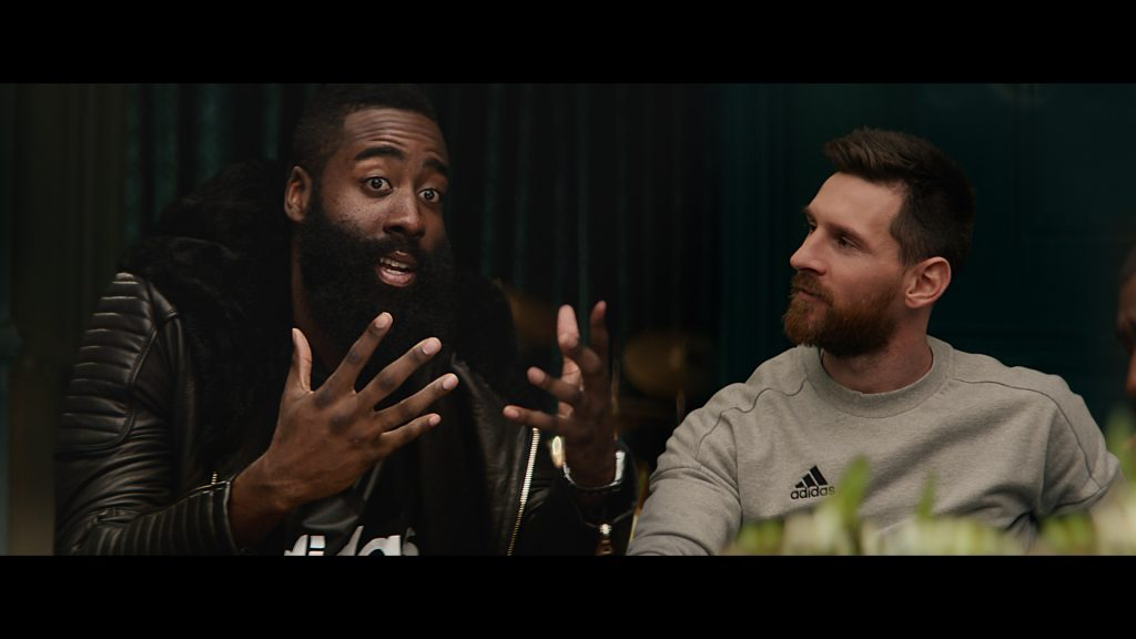 adidas - Calling All Creators - James Harden & Lionel Messi