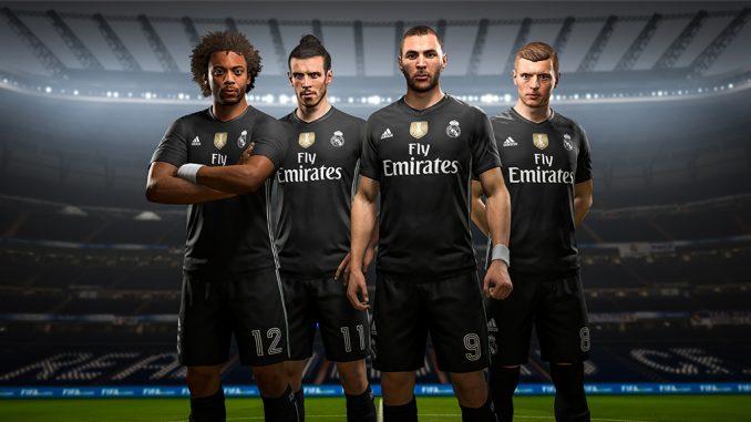 FIFA18: Un 4e maillot du Real, du Bayern, de la Juve et de Man United exclusivement dans FUT