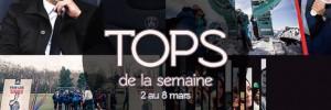 Nos TOPS de la semaine #16