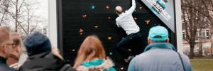 Powerade crée des affiches publicitaires  pour faire du sport