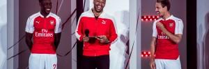 Thierry Henry et PUMA dévoilent le nouveau maillot d'Arsenal