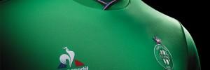 Le Coq Sportif lance les nouveaux maillots de l'AS Saint-Etienne