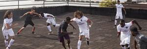Nike dévoile le nouveau maillot extérieur du Paris Saint-Germain à New York