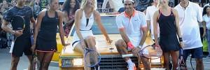 Les stars de Nike Tennis réunis pour un remake du match Agassi-Sampras