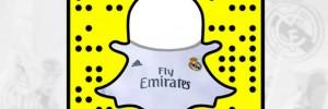 Le Real Madrid débarque sur Snapchat !