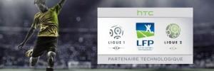 HTC devient partenaire technologique de la LFP
