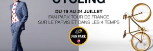 Le Tour de France a son Fan Park !