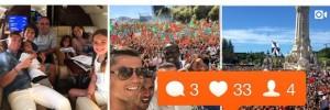Ronaldo et Pogba : les plus influents de l'Euro 2016 sur Instagram !