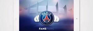 Le PSG lance son application FANSPARC