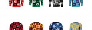 Idée cadeau : les pulls de noël de la NBA