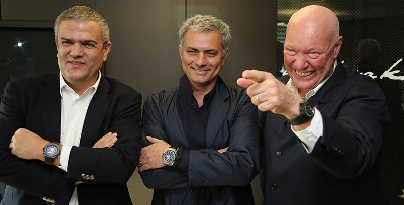 José Mourinho, nouvel ambassadeur Hublot