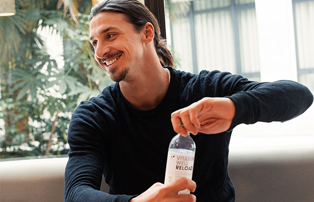 Zlatan Ibrahimovic Vitamin Well
